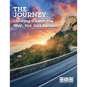The Journey: Showing Clients the Way, Not Just Returns