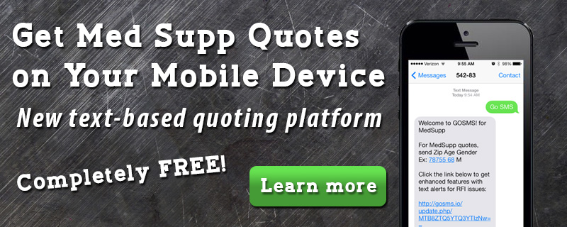 Get Med Supp Quotes on your Mobile Device