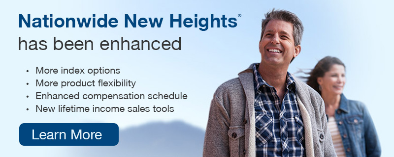 Nationwide New Heights has been enhanced